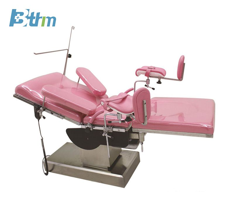 Electric gynecological operating table