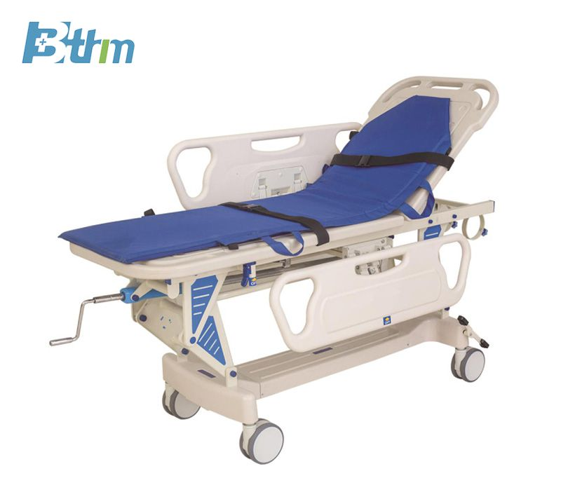 Patient Transfer Trolley - Luxury lift cart Manufacturer China