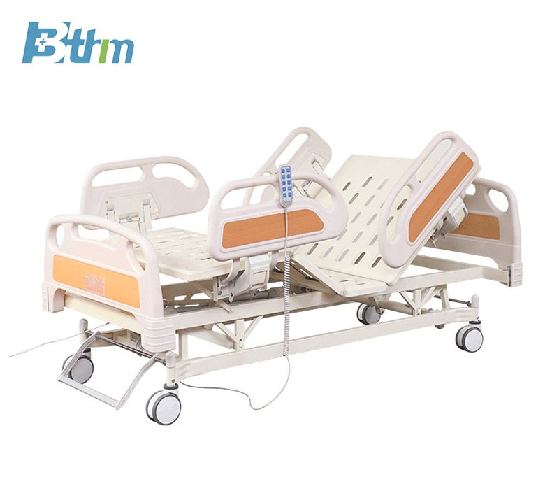 Multifunctional electric medical bed