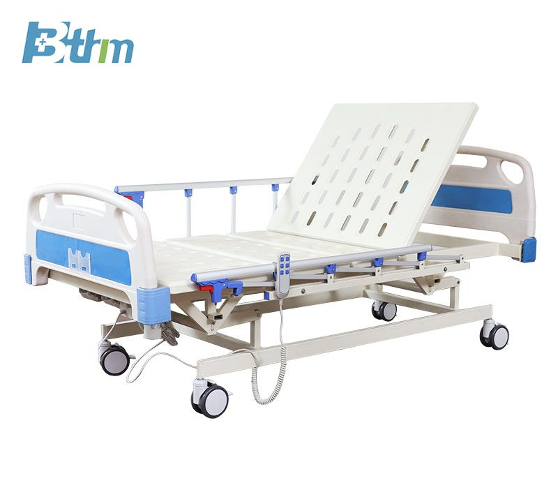 Electric And Manual Three Functions Medical Bed