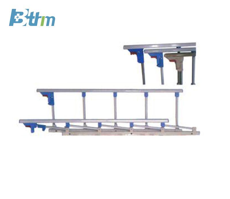 Five post aluminium alloy guardrail