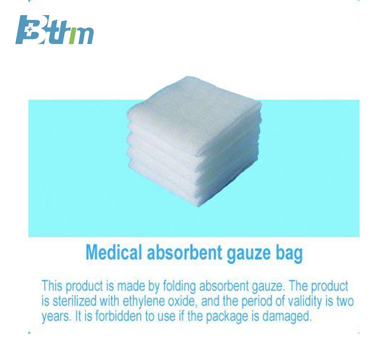 Medical absorbent gauze bag