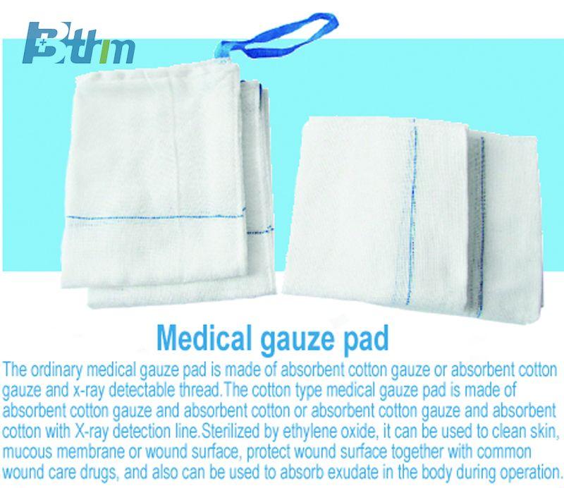 Medical gauze pad