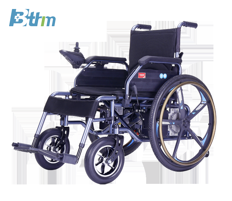 ODM. Manual and Electric Integrated Wheelchair