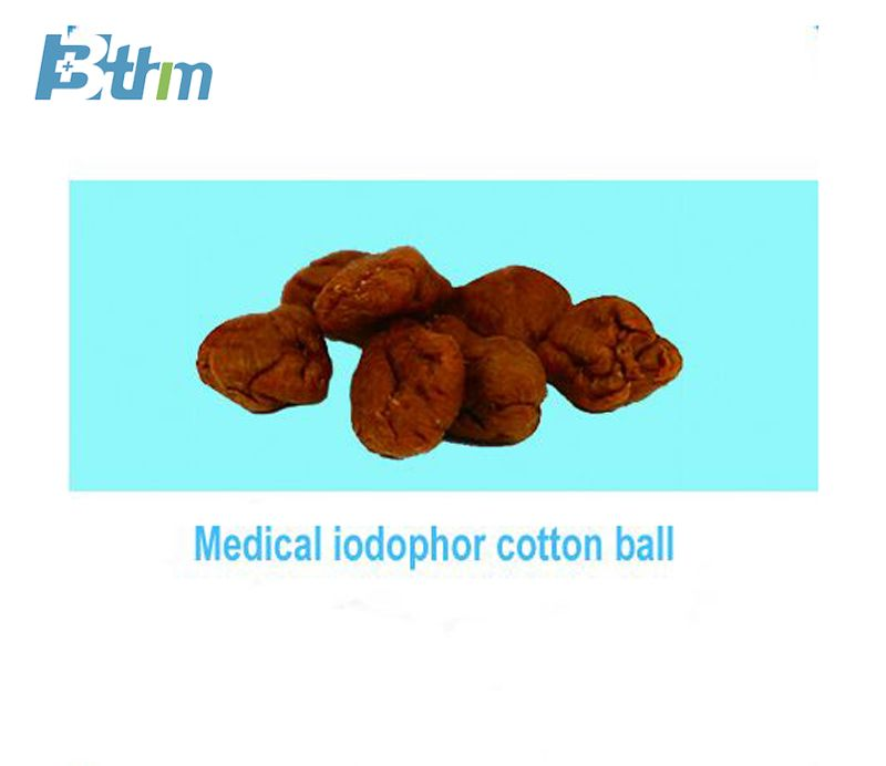 Medical Iodophor Cotton Ball