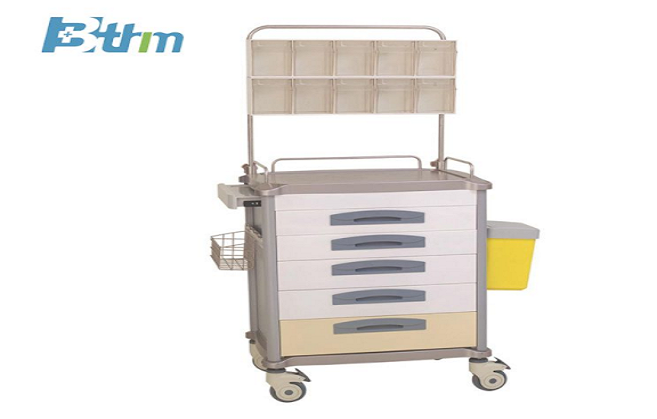 Types And Functions Of Nursing Trolley